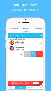 icallyou call reminder u0026 widget app store