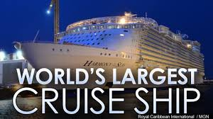 royal caribbean calls its new cruise ship harmony of the seas a