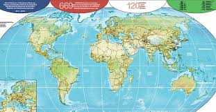 image for world map new map of the world network of biosphere reserves 2017 2018