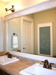 Framed Mirrors For Bathroom Vanities Wood Framed Mirrors For Bathrooms Parsmfg