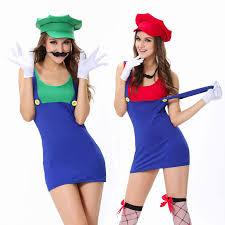 Super Mario Halloween Costume Cheap Luigi Halloween Costume Aliexpress Alibaba