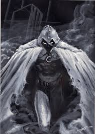 quikly sketch moon knight by lucastrati on deviantart