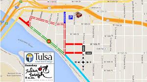 Map Of Tulsa Tulsa Tough Heating Up In Downtown Tulsa Newson6 Com Tulsa Ok