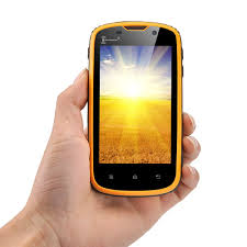ken xin rugged smartphone yellow