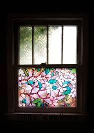 Decorative Window Film Stained Glass Using Decorative Window Film At Home Homerous