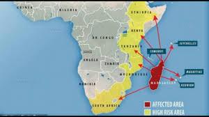 Black Death Map Worse Than The U0027black Death U0027 Plague Fears Grow As Virus With No