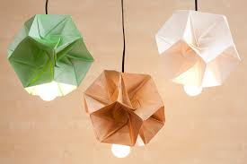 Paper Lighting Fixtures These Diy Origami Lamp Shades Are Our New Obsession Brit Co