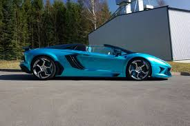 mansory aventador mansory lamborghini aventador lp700 4 roadster as blue as the sky
