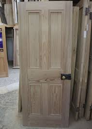 Six Panel Oak Interior Doors Wonderful 4 Panel Solid Wood Interior Doors Six Panel Door In