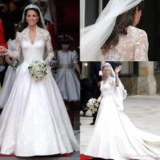 Budget Wedding Dresses Discount V Neck Pageant Dress For Women Cathedral Train Wedding
