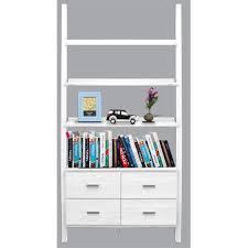 black two shelf bookcase furniture office bookcase thin bookcase white wood bookshelf two