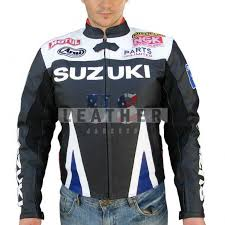 gsxr riding jacket suzuki motorbike leather custom racing jacket