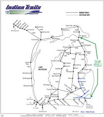 Bay City Michigan Map by Indian Trails Begins New Bay City Flint Detroit Route Michigan