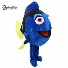 Birthday Suit Halloween Costume by Aliexpress Com Buy Cosplaydiy Finding Dory Mascot Costume Dory