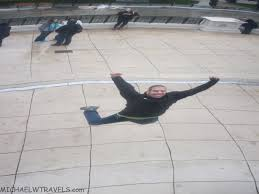 The Bean Chicago Map by Jumping At The Bean Chicago Michael W Travels