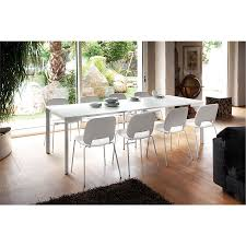 Console Dining Table by Marcia Modern White Extension Dining Table Eurway