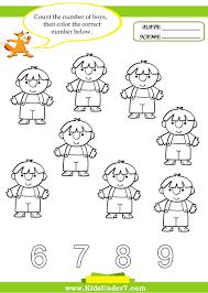 free printable kindergarten math worksheets chapter 1 worksheet