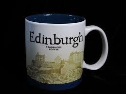 Tea And Coffee Mugs Starbucks Edinburgh Icon Mug Castle Collector Coffee Tea Scotland