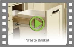 Pull Out Trash Can 15 Inch Cabinet Pull Out Trash Can Cabinet Kitchen Recycling U0026 Waste Bin