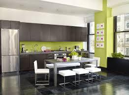 couleur de peinture cuisine peinture murale cuisine couleur