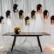 Tom Dixon Copper Pendant Light Fade Pendant L By Tom Dixon Connox