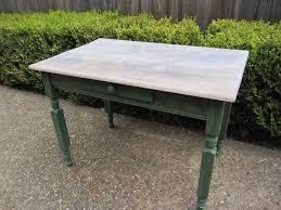 distressed garden table desk houston furniture refinishing