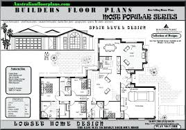 multi level home floor plans split level floor plans multi level