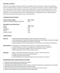 Free Medical Assistant Resume Templates Resume Medical Resume Templates Medical Assistant Resume