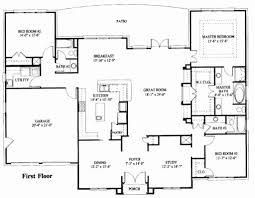 Impressive Design Rambler Floor Plans House Plans One Level Luxury Modern House Plan Impressive E Level