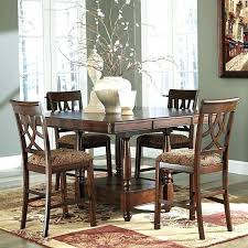 bar height dining room table sets high tables furniture end brands