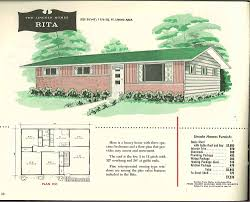 Ranch Home Remodel Floor Plans Factory Built Houses 28 Pages Of Lincoln Homes From 1955 Retro