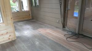 gray stained hardwood floors wood floors