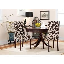 safavieh parsons floral print dining chair set of 2 hud8207a