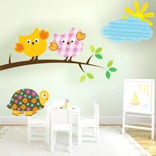 eulen kinderzimmer vogel eulen ast und wolke schildkröte für kinderzimmer stickermix