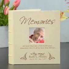 Personalized Photo Album Memories Personalized Memorial Photo Album