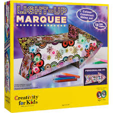 creativity for kids light up marquee big w