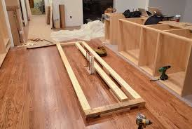 Installing Floor Cabinets Installing Kitchen Base Cabinets Yourself Home Design Ideas