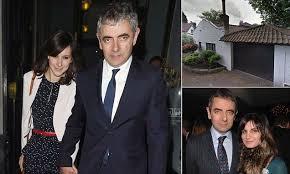 rowan atkinson u0027moves girlfriend louise ford into his london home