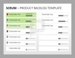 Scrum Excel Spreadsheet Scrum Product Backlog Template Software Project Management