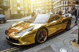 golden ferrari price gold ferrari madwhips