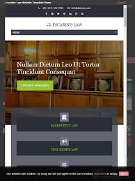 lawyer templates collection free website templates