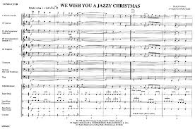 we wish you a jazzy arr mike story j w pepper sheet