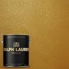 ralph lauren paint gold regent metallics finish 1 gallon house