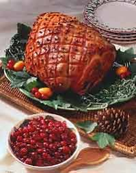 baked ham with cranberry wine compote howstuffworks