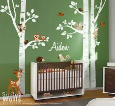 Wall Decals Baby Nursery Vinyl Wall Decals Smileywalls Artfire Shop