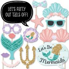 mermaid baby shower let s be mermaids baby shower or birthday party photo booth
