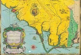 Map Of North Carolina Coast Province Of Carolina Wikiwand