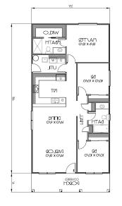 home design floor plan 80555pm f1 1 bedroom cottage house plans