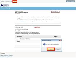 online renewals existing user washington state department of health
