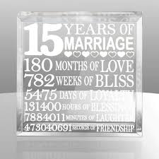 15 wedding anniversary what s a 15th wedding anniversary gift for my quora